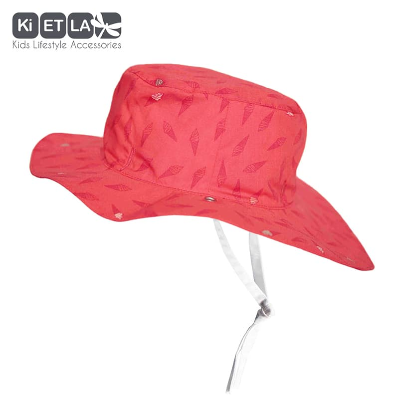 109847eff KiETLA obojstranný klobúčik s UV ochranou - 52cm empty