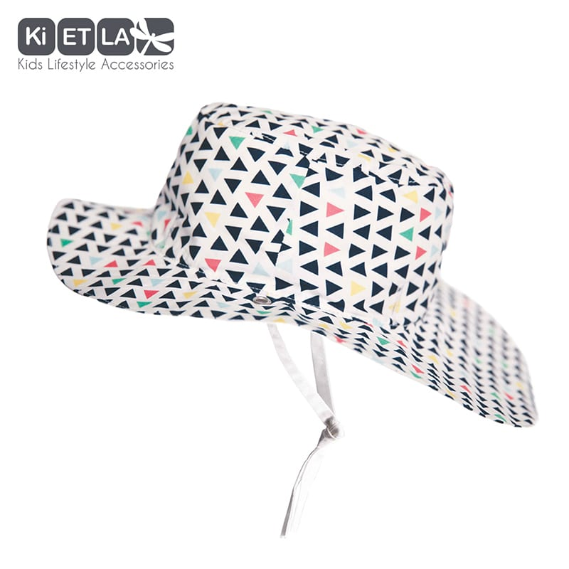 KiETLA  obojstranný klobúčik s UV ochranou 45-47cm