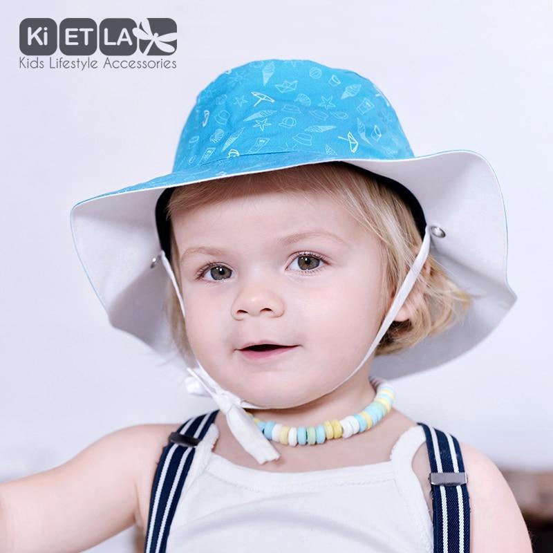 40beb51ebba3 KiETLA obojstranný klobúčik s UV ochranou - 47cm