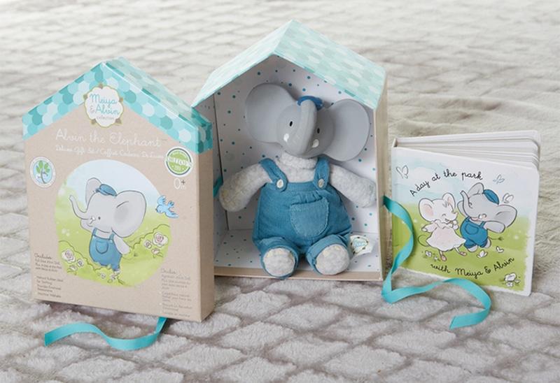 Meiya&Alvin darčekový set DELUXE knižka + hračka