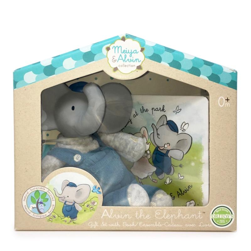 Meiya&Alvin darčekový set knižka + hračka