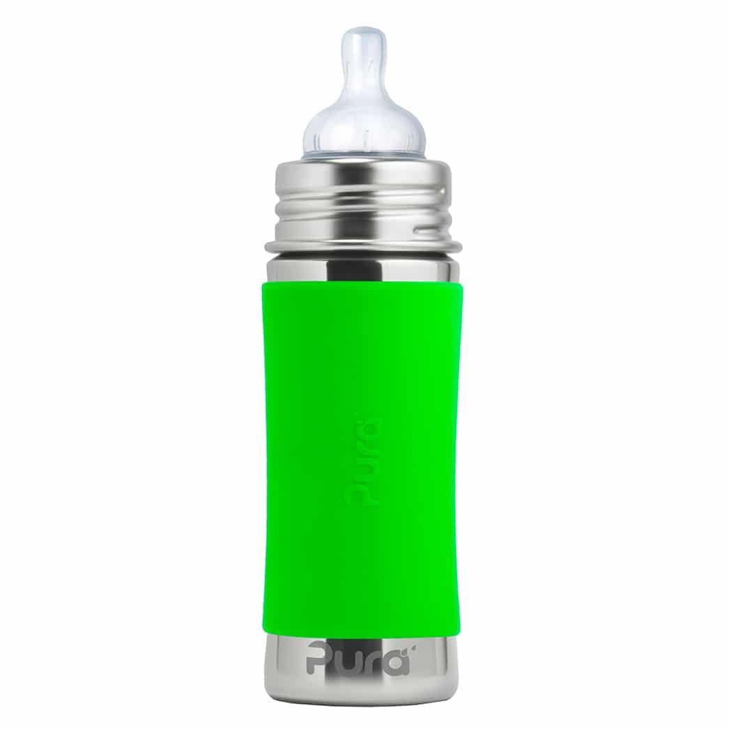 Pura® nerezová dojčenská fľaša 325ml