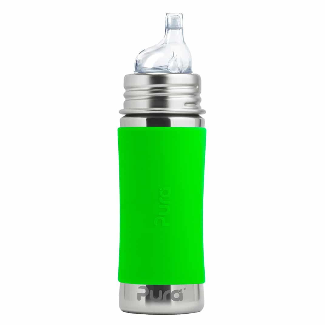Pura® nerezová fľaša s náustkom 325ml