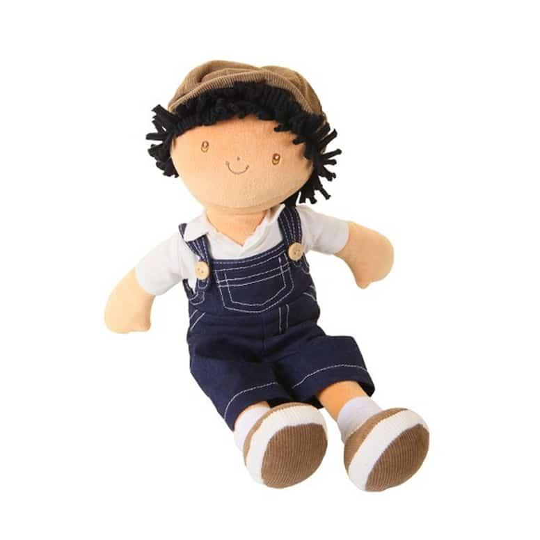 Bonikka látková bábika - chlapec 38 cm