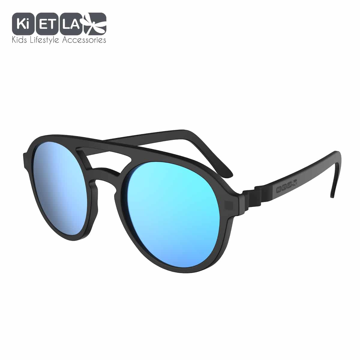 KiETLA CraZyg-Zag slnečné okuliare PiZZ 6-9 rokov