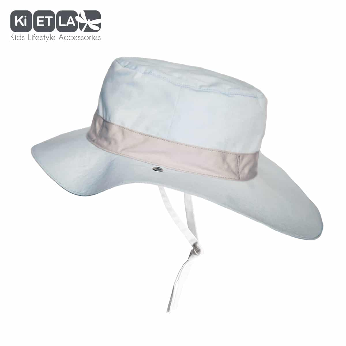 KiETLA obojstranný klobúčik s UV ochranou - 52cm