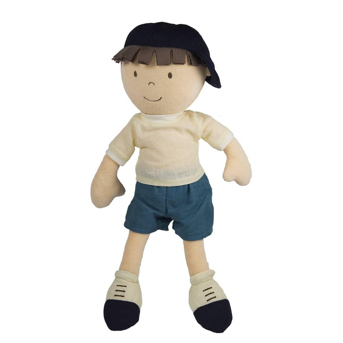 Bonikka látková bábika - chlapec 32 cm