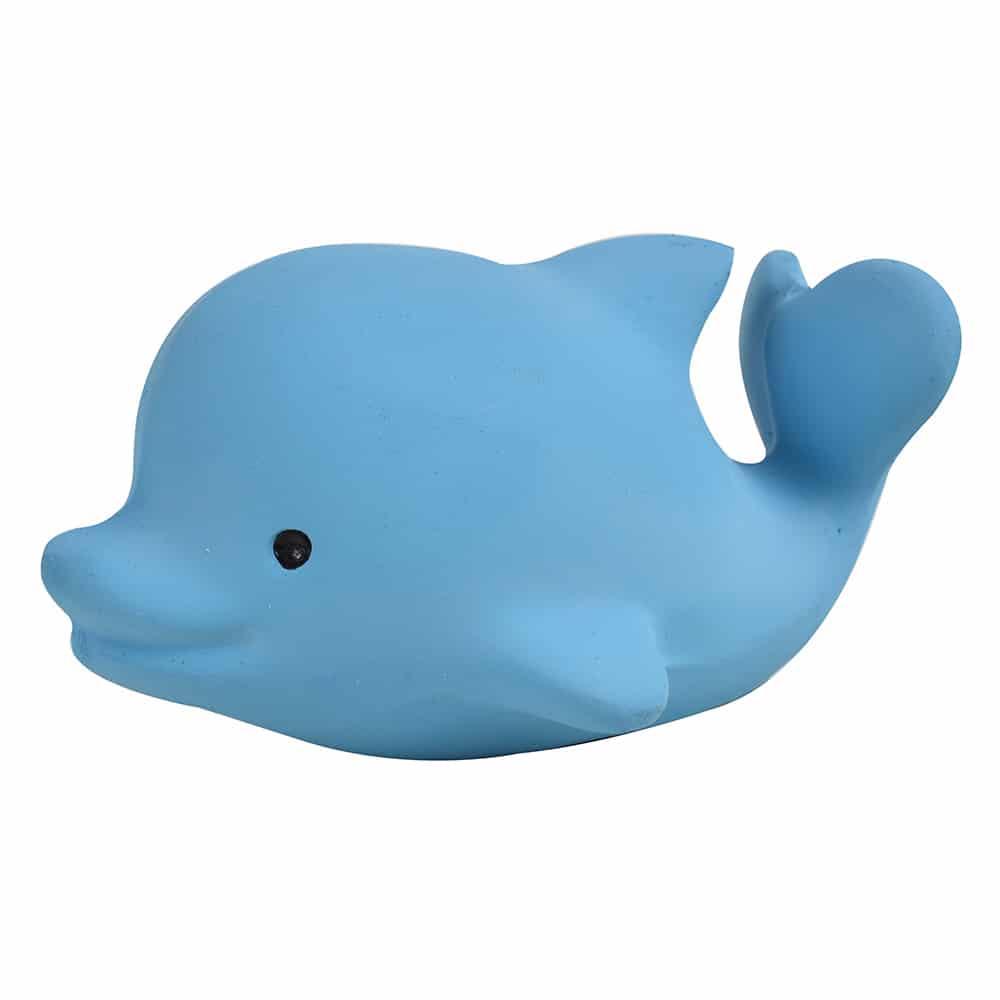 Tikiri Ocean Buddies - hrkálka a hryzátko z prírodnej gumy