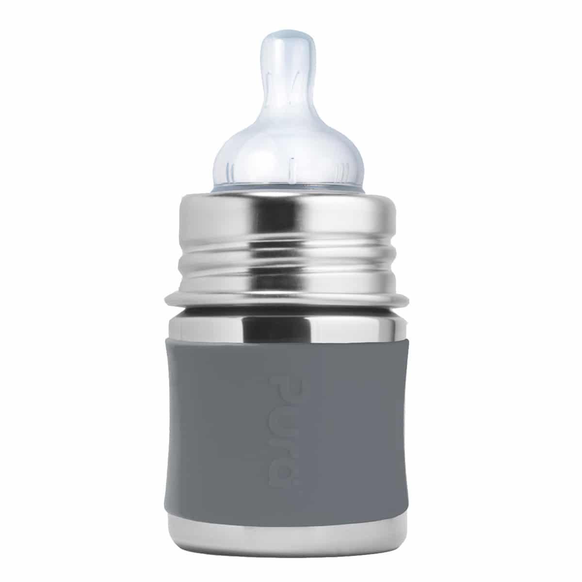 Pura® nerezová dojčenská fľaša 150ml